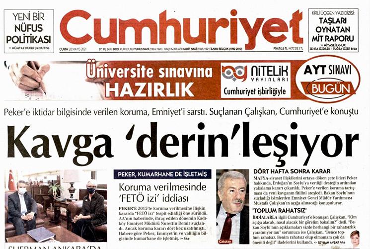 Mustafa Çalışkan'dan Soylu'ya olay sözler