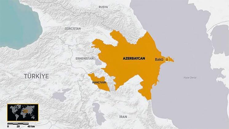 Nahçıvan sınırında Ermenistan saldırısı